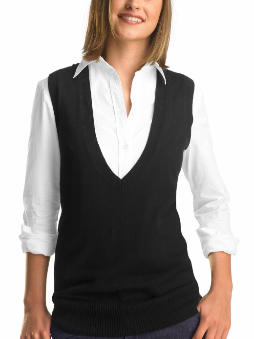 V Neck Sweater Vest Women 65